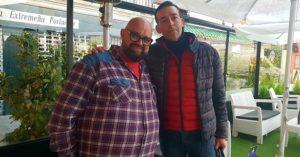 Antonio Pedro Serrano y David Calleja