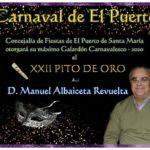 XXII Pito de Oro – D. Manuel Albaiceta Revuelta